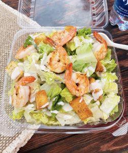 Clam Haven shrimp salad